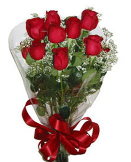 Çiçek sade gül buketi 7 güllü buket  Amasya online çiçek gönderme sipariş