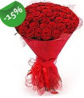 51 adet kırmızı gül buketi özel hissedenlere  Amasya çiçek siparişi sitesi