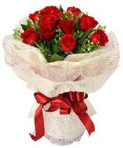 12 adet kırmızı gül buketi  Amasya anneler günü çiçek yolla
