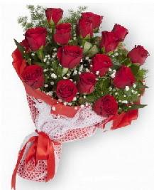 11 kırmızı gülden buket  Amasya güvenli kaliteli hızlı çiçek