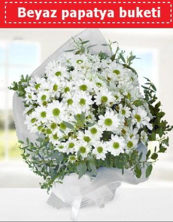 Beyaz Papatya Buketi  Amasya 14 şubat sevgililer günü çiçek