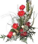 Amasya kaliteli taze ve ucuz çiçekler  Kirmizi gerbera özel tanzim