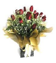 Amasya internetten çiçek siparişi  11 adet kirmizi gül  buketi