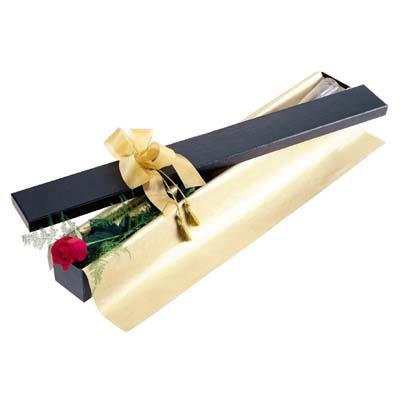 Amasya uluslararası çiçek gönderme  tek kutu gül özel kutu