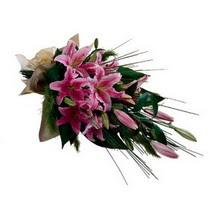 Amasya kaliteli taze ve ucuz çiçekler  gerberalardan görsel halde buket