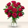Amasya çiçek yolla  10 adet gül cam yada mika vazo da