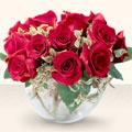 Amasya çiçek online çiçek siparişi  mika yada cam içerisinde 10 gül - sevenler için ideal seçim -