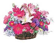 küçük karisik özel sepet   Amasya çiçek online çiçek siparişi