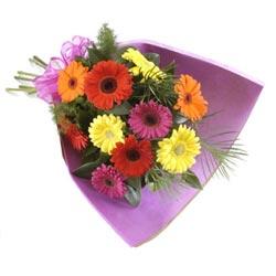 karisik gerbera buketi   Amasya online çiçekçi , çiçek siparişi