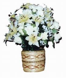 yapay karisik çiçek sepeti   Amasya çiçek mağazası , çiçekçi adresleri