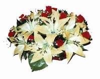 yapay karisik çiçek sepeti   Amasya internetten çiçek siparişi