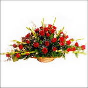 Amasya çiçekçi mağazası  sepette 51 kirmizi gül