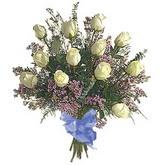 bir düzine beyaz gül buketi   Amasya çiçek gönderme sitemiz güvenlidir