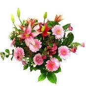 lilyum ve gerbera çiçekleri - çiçek seçimi -  Amasya çiçek gönderme