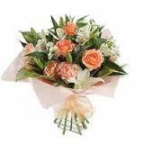 Amasya çiçek , çiçekçi , çiçekçilik  karisik buket tanzimi demeti - anneler günü çiçek buketi -
