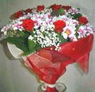 12 gül ve kir çiçeklerinden  Amasya çiçek yolla