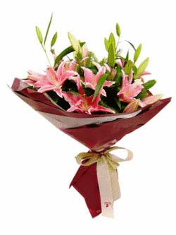 3 ADET KAZABLANKA BUKETI   Amasya internetten çiçek satışı
