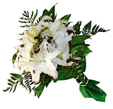 3 adet kazablanka demeti buketi  Amasya çiçekçi mağazası