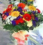 Amasya hediye çiçek yolla  karma büyük ve gösterisli mevsim demeti