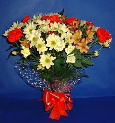 Amasya hediye çiçek yolla  kir çiçekleri buketi mevsim demeti halinde