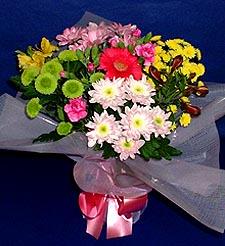 Amasya hediye çiçek yolla  küçük karisik mevsim demeti