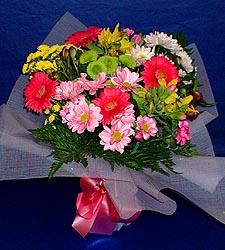 karisik sade mevsim demetligi   Amasya 14 şubat sevgililer günü çiçek
