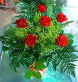 6 adet kirmizi gül buketi   Amasya online çiçek gönderme sipariş