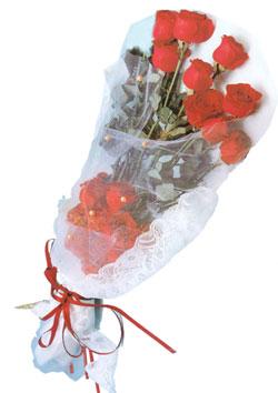 11 adet kirmizi güller buket tanzimi   Amasya çiçek siparişi sitesi