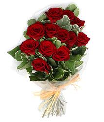 Amasya çiçek yolla , çiçek gönder , çiçekçi   9 lu kirmizi gül buketi.