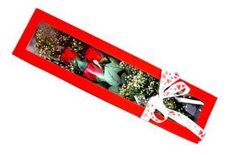 Amasya hediye çiçek yolla  Kutuda 3 adet gül