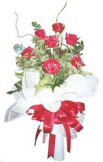 Amasya çiçek siparişi sitesi  7 adet kirmizi gül buketi