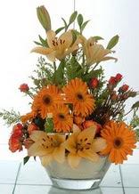 Amasya çiçek servisi , çiçekçi adresleri  cam yada mika vazo içinde karisik mevsim çiçekleri
