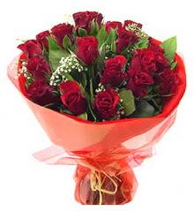 Amasya anneler günü çiçek yolla  11 adet kimizi gülün ihtisami buket modeli