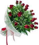 Amasya internetten çiçek satışı  11 adet kirmizi gül buketi sade ve hos sevenler