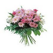 karisik kir çiçek demeti  Amasya çiçek satışı