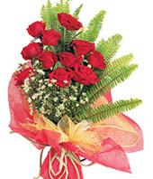 11 adet kaliteli görsel kirmizi gül  Amasya çiçek satışı