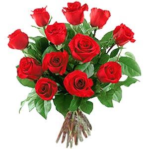 11 adet bakara kirmizi gül buketi  Amasya güvenli kaliteli hızlı çiçek