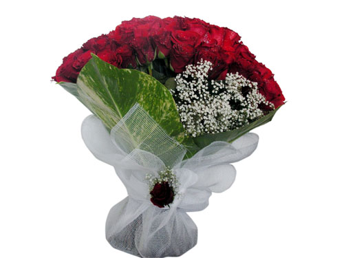 25 adet kirmizi gül görsel çiçek modeli  Amasya çiçek servisi , çiçekçi adresleri