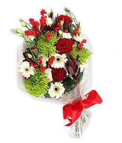 Karisik mevsim buketi çiçek tanzimi  Amasya internetten çiçek siparişi