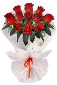 11 adet gül buketi  Amasya internetten çiçek siparişi  kirmizi gül