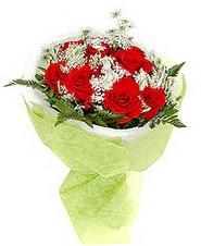 Amasya çiçek , çiçekçi , çiçekçilik  7 adet kirmizi gül buketi tanzimi