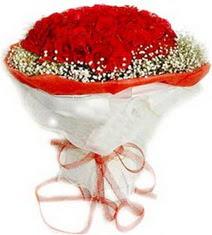 Amasya çiçekçiler  41 adet kirmizi gül buketi