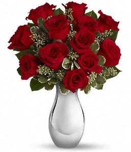 Amasya çiçek siparişi vermek   vazo içerisinde 11 adet kırmızı gül tanzimi