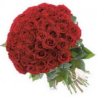 Amasya güvenli kaliteli hızlı çiçek  101 adet kırmızı gül buketi modeli