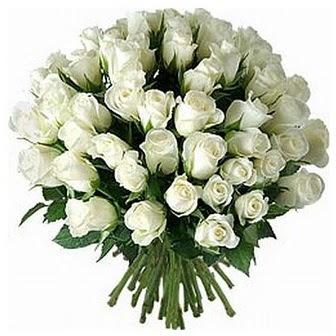 Amasya çiçek servisi , çiçekçi adresleri  33 adet beyaz gül buketi