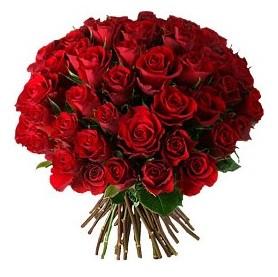Amasya çiçek , çiçekçi , çiçekçilik  33 adet kırmızı gül buketi