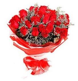 Amasya çiçek mağazası , çiçekçi adresleri  12 adet kırmızı güllerden görsel buket