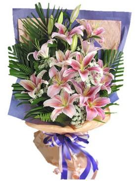 7 dal kazablankadan görsel buket  Amasya kaliteli taze ve ucuz çiçekler