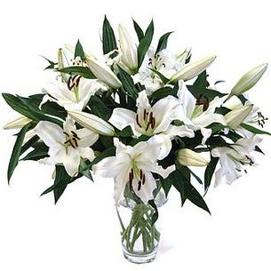 Amasya çiçekçi telefonları  3 dal görsel casablanca vazo tanzimi