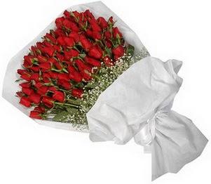 Amasya İnternetten çiçek siparişi  51 adet kırmızı gül buket çiçeği